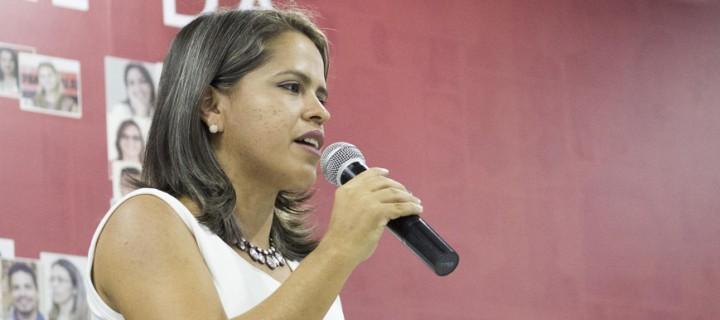 """Enedina Soares: """"Esta foi uma gestão marcada pelo signo da democracia, da transparência e da criatividade"""""""
