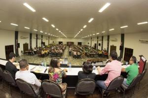 Servidores prestigiaram o lançamento da Revista F Nº 3 / Foto: Marcos Adegas